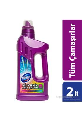 Domestos Sıvı Leke Çıkarıcı Tüm Renkler 2 Lt