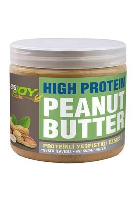 Bigjoy Yüksek Proteinli Yerfıstığı Ezmesi Şeker İlavesiz 360 gr