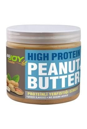 Bigjoy Yüksek Proteinli Yerfıstığı Ezmesi Şeker İlavesiz Splenda ile Tatlandırılmış 360 gr
