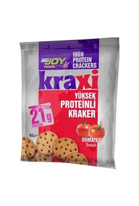 Kraxi Yüksek Proteinli Kraker Domates Aromalı 62 gr