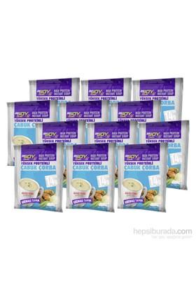Bigjoy Yüksek Proteinli Çabuk Çorba Kremalı Tavuk 12x34 gr