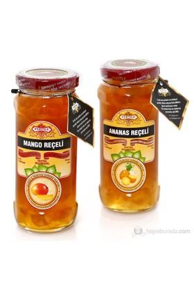 Fertile Ananas Reçeli 310 gr + Mango Reçeli 310 gr 2'li paket