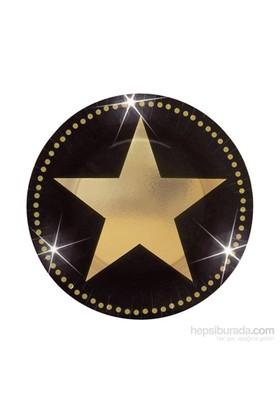 KullanAtMarket Hollywood Yıldızı Küçük Tabak 8 Adet