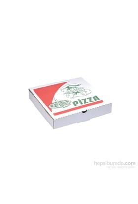KullanAtMarket Küçük Pizza Kutusu 100 Adet