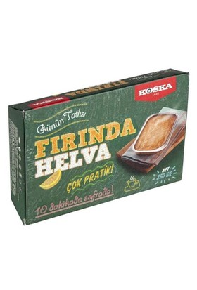 Koska Fırında Helva 250 Gr