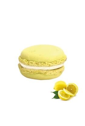 Nefis Gurme Misket Limonlu Deluxe Parisian Macaron 6'Lı