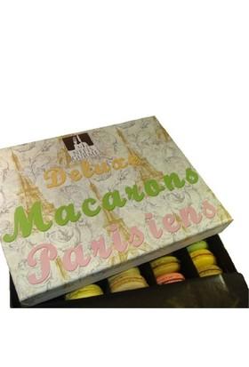 Nefis Gurme Karışık Macaron 35'Li (9 Çeşit Karışık) Özel Hediye Kutusunda