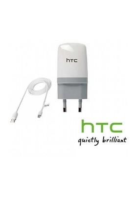 HTC Şarj Cihazı ve USB Kablo 2.0A Beyaz