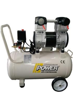 Power Sessiz ve Yağsız Kompresör 50 Lt PSLY50-1,5M