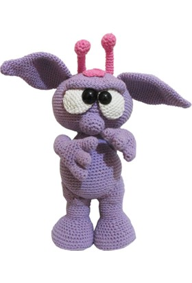 Knitting Toy Sevimli Uzaylı El Örgüsü (Amigurumi) Oyuncak