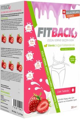 Fitback Kilo Verme Amaçlı Kalorisi Kısıtlanmış Gıda - Çilek Aromalı (15 Günlük)
