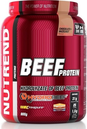 Nutrend Beef Protein 900 Gr Çikolata-Fındık
