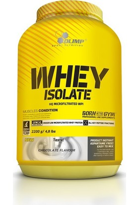 Olimp Pure Whey Protein Isolate 2200 Gr Çıkolata