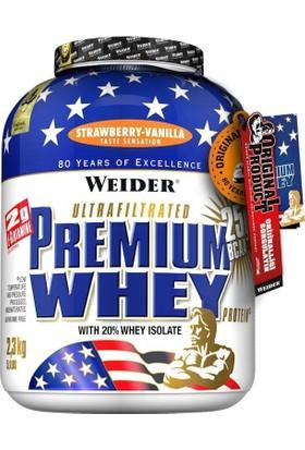 Weider Premium Whey Protein Tozu 2300 Gr Vanilya-Çilek (Orijinal Distribütör Bandrollü)