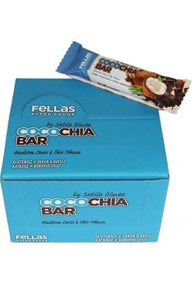 Fellas CocoChia Bar 45 Gr 16 Adet Hindistan Cevizi & Chia Tohumu