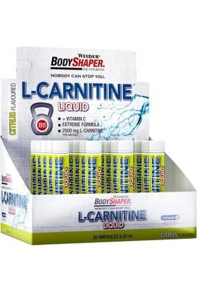 Weider L-Carnitine Liquid 2500 Mg 20 Ampul Lımon (Orijinal Distribütör Bandrollü)