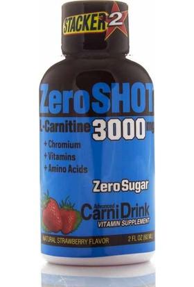 Zero Shot 60 ML 3000Mg L-Carnitine Şeftali