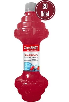 Zero Shot Dumbbell Thermo Burn L-Carnitine 2000 MG 475 ML 20 Adet Çilek - Orman Meyveleri