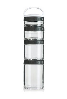 Blender Bottle GoStak Siyah 350 ml