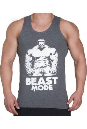 Supplementler.com Beast Mode HLK Tank Top Koyu Gri X-Large
