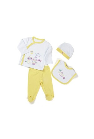 Zeyland Kız Çocuk Sarı 4 Lu Hastane Çıkışı - K-61H2400