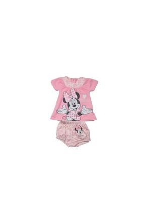 Disney Minnie Mouse Şort Bluz Takım
