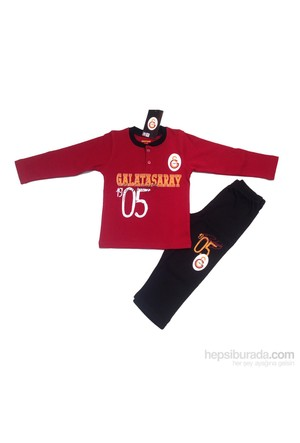 Galatasaray Gsstore Lisanslı Eşofman Takımı-Kırmızı