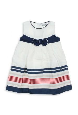 Modakids Jojo Mama Kız Çocuk Fiyonklu Elbise (9 Ay-4 Yaş) 022-5237-012