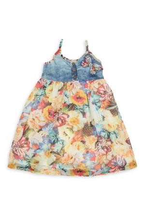 Modakids Nk Kids Kız Çocuk Robası Kotlu Jile Elbise 002-71718-002