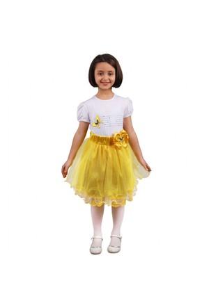 Modakids 23 Nisan Kız Çocuk Tütü Etekli 3'Lü Takım 037-23M07-001