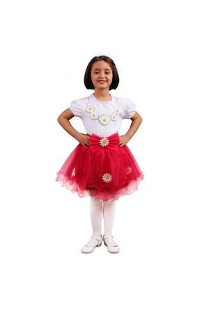 Modakids 23 Nisan Kız Çocuk Tütü Etekli 3'Lü Takım 037-23M08-022