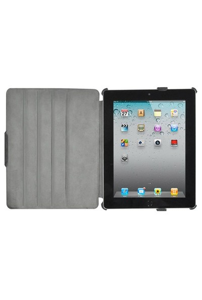 Luxa2 Legerity Siyah iPad 2 Kılıf veStand