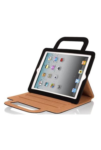 Luxa2 Rimini Mavi iPad 2/ New iPad Deri Kılıf ve Stand