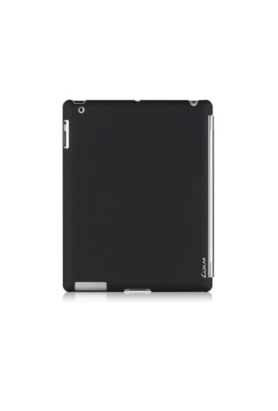 Luxa2 Siyah New iPad Tough Case Plus Plastik Kılıf
