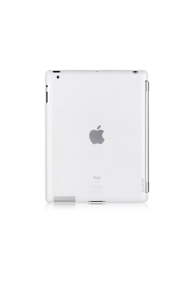 Luxa2 Beyaz New iPad Tough Case Plus Plastik Kılıf