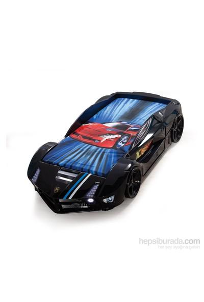 FastBack Arabalı Yatak Siyah Çocuk Karyolası