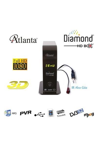 Atlanta Diamond HD Box Mini Full HD PVR Uydu Alıcısı (Full HD)
