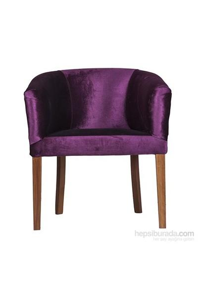 3A Mobilya Fosforlu Purple Berjer