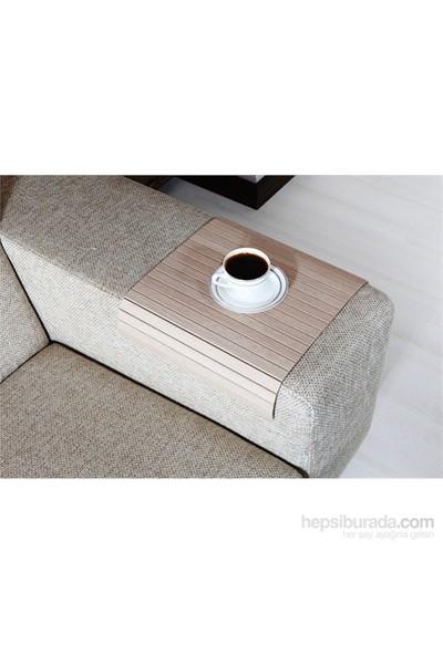 Esser - Koltuk Sehpası - Beyaz Meşe 30x40