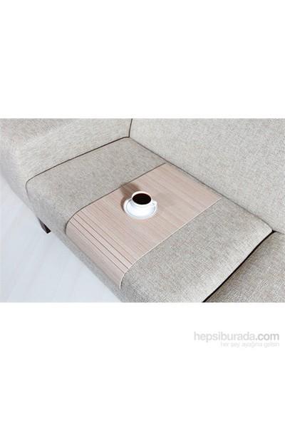 Esser - Koltuk Sehpası - Beyaz Meşe 30x60