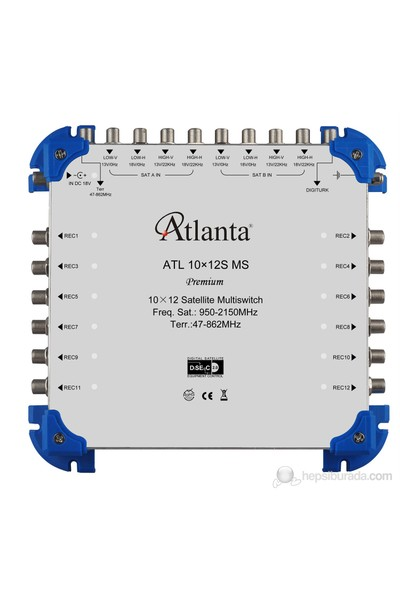 Atlanta ATL 10/12 (S) Sonlu Multiswitch