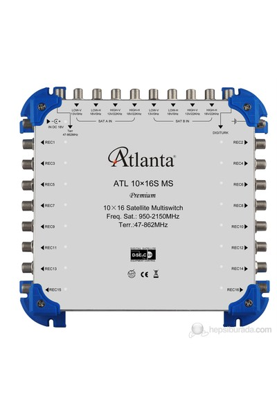 Atlanta ATL 10/16 (S) Sonlu Multiswitch