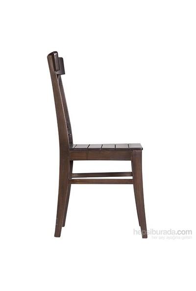 3A Mobilya Ceviz Çapraz Sandalye
