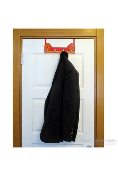Taraftar Askısı (Sarı-Kırmızı) Kapı Askılığı 3
