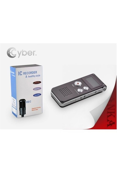 Qpars Qp-34 Ses Kayıt Cihazı 4 Gb Şarjlı Profesyonel Ürün