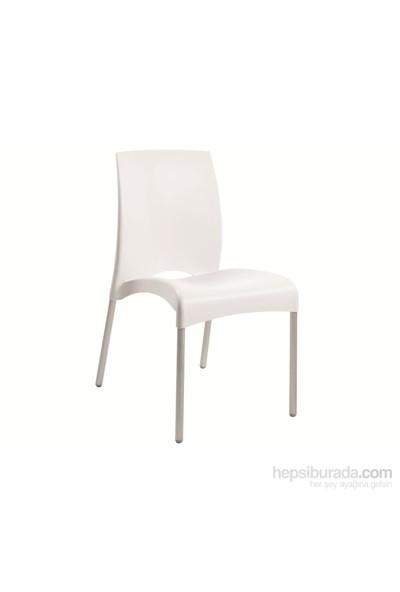 Papatya Vital-S Sandalye Beyaz