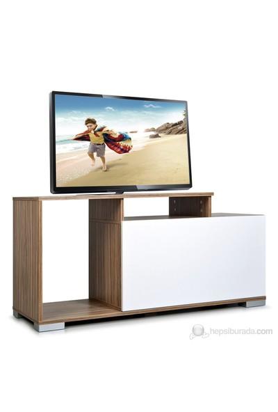 Kenyap 803605 Nesta Tv Sehpası - Ceviz&Beyaz