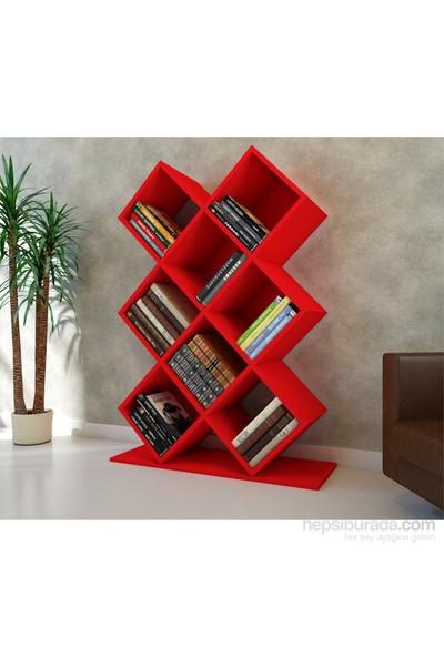 Kumsal Kitaplık Kırmızı