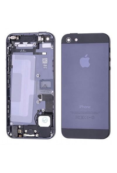 İphone 5 Full Kasa Kapak Ve Yedek Parçalı Gri Renk