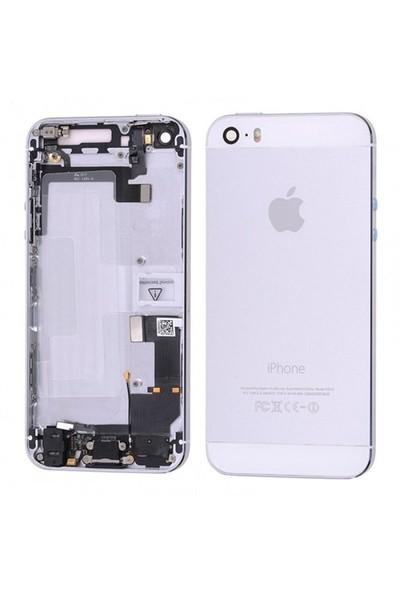 İphone 5S Full Kasa Kapak Ve Yedek Parçalı Beyaz Renk